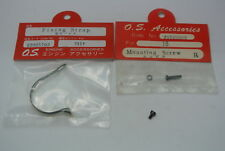 STRAP AND MOUNTING SCREWS FOR THE VINTAGE OS MAX MUFFLER #702 NIB