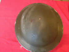 WW2 1940 british soldiers helmet, war with Greek liner.