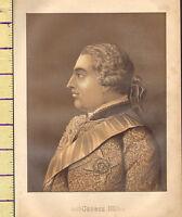 C1860 Vittoriano Stampa ~ George III Di