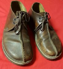Clarks Originals Men's Shoes Desert Trek Chukka Boot Brown Leather 9.5 FREE SHIP