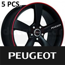 Peugeot Door Handle Wheel sticker decal 206 207 307 308 408