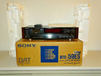 Sony DTC-59ES High-End DAT-Recorder Schwarz in OVP inkl. FB&BDA, 2J. Garantie