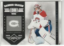 2011 11-12 Limited Banner Season Silver Spotlight #14 Carey Price 28/49