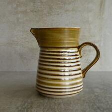 Vintage Kasuga by Showa Genuine Stoneware Jug handcrafted Japan 280mls 10.5cm