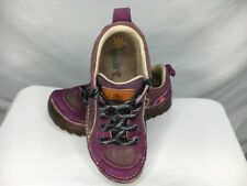 The Art Company Womens Athletic Shoes Purple Brown Low Top Lace Up Sneakers 7