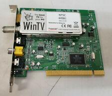 HAUPPAUGE WINTV PCI TV TUNER CARD NTSC 44981