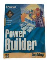 Vintage Powersoft powerbuilder Version 6.0 -1997 -Enterprise Windows Builder New