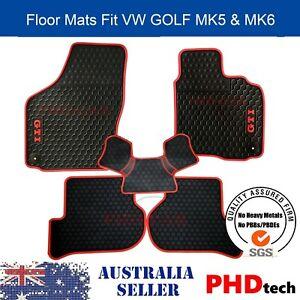 All Weather Rubber Car Floor Mats fit  Golf GTI MK5/MK6