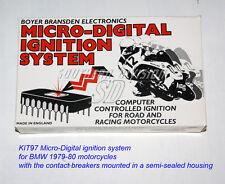 BMW 1979-80 elektr. Zündung Boyer Kennlinie ignition unit Micro Digital KIT97