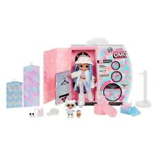 L.O.L. Surprise! O.M.G. Winter Disco Snowlicious Fashion Doll and Sister