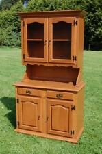 Charming Modern Country Kitchen Display Dresser / Sideboard - Glazed Doors