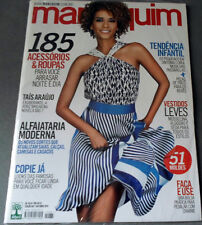 MANEQUIM  BRAZILIAN MAGAZINE 667 - OCTOBER 2014 W/ SEWING PATTERNS
