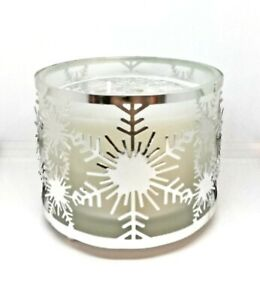 Christmas Silhouette 2 Wick Filled Candle 25 Hour Burn Time - Silver Birch