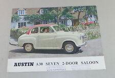 Prospekt / Brochure Austin A30 Seven 2 Door Saloon