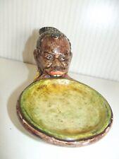 Seltene Ceramic Bowl Mursi Woman Ethiopia Tellerlippe Lippenteller Africa