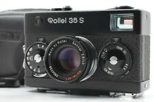 【 EXC+5 w/Case 】Rollei 35s Black 35mm Camera w/ Sonnar 40mm f2.8 From Japan #260