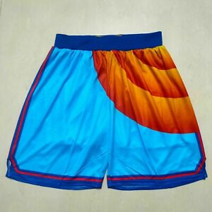 New Hot sale Space Jam Movie Basketball Shorts Size: S-XXL