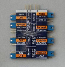 Programming Card für BlueSeries Brushless ESC Regler Programmierkarte HobbyKing