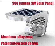 Solar Ultra Bright 300 Lumens 3W SMD LEDs Motion Sensor Light -Commercial  Grade