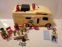 VINTAGE Playmobil 3647 Summer Fun Camper Van RV Set  + Figures + Extras VGC