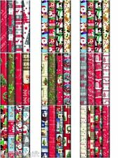Brand New And Sealed Christmas Wrapping Paper Rolls Santa 4x10m