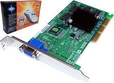 MSI Vanta TNT2M64 32MB 4X AGP Video Card New 8808-320