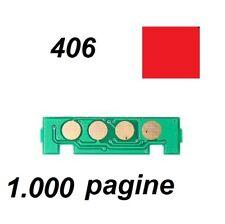 Chip per Toner Samsung CLT-M406S Magenta 1.000 pagine CLP 360 CLX 3300 406