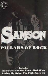 Samson-Pillars Of Rock Cassette.1990 Connoisseur Collection VSOP MC 151.