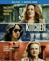 - The Kitchen (Blu-Ray+Digital)  w/Slipcover 2019 bluray NO DIGITAL