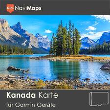 Topo Karte Kanada Garmin Edge GPSMap Etrex Nüvi Astro Oregon Dakota Montana