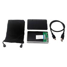 40Pin 1.8'' CE/ZIF auf USB 2.0-Adapter Metallgehäuse Festplattengehäuse mit