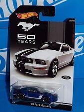 Hot Wheels Wal-Mart 50 Years Ford Mustang Series '07 Ford Mustang