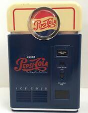 Vintage Pepsi Cola Vending Machine  Coin Sorter Bank Plastic