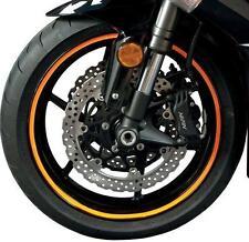 FLU Designs Sport Bike Wheel Trim Decal Kit  Flourescent Orange 60607*