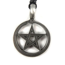 Ouroboros Serpent Eternity Pentagram Wiccan Pagan Gothic Druids Amulet Pendant