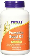 Now Foods Pumpkin Seed Oil 1000 mg 100 Softgels