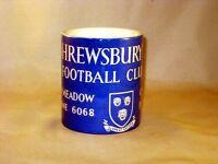 Shrewsbury Town Football Programme Collectors MUG