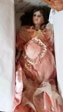 Victorian Style Porcelain Doll. 16 inch.