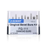 SALE Dental Diamond Burs Drill Composite Polishing Kit for High Speed Handpiece