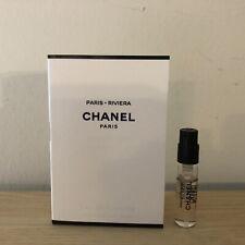 CHANEL LES EAUX DE CHANEL PARIS RIVIERA EAU DE TOILETTE SAMPLE 0.05oz/1.5ml New