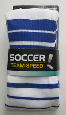 Men's Adidas Soccer Socks, New White Navy Formotion Climacool Socks Sz m (5-8.5)