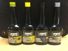 FORTE Diesel Kit comprises 4 x Diesel Engine Treatments (see below for details)