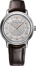 Raymond Weil Maestro Men's 2837-SL5-65001 Brown Leather Swiss Automatic watch