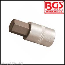 """BGS - 1/2"""" - Internal Hex, Allen Key - 18 mm - Bit Socket - Pro Range - 5052-18"""