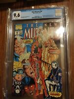 New Mutants 98 CGC Graded 9.6 White Pages First Appearance Of DEADPOOL