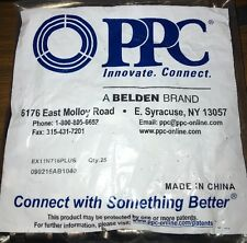 NEW CASE 400 BELDEN PPC EX11N716PLUS EX11 RG11 COMPRESSION CONNECTORS FITTINGS