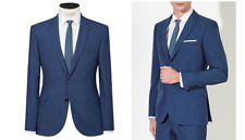 Kin By John Lewis Stamford Tonic Suit Jacket, Ultra Marine Size 36R £109 BNWT