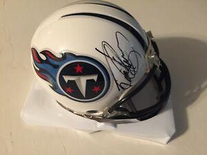 Derrick Henry Autographed Signed Titans Mini Helmet - Steiner