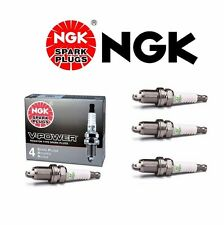 4 X NGK V-Power Resistor OEM Power Performance Spark Plugs LFR6A11 # 3672