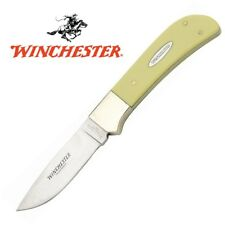 "Winchester 8"" Hunter Fixed Blade Knife with Sheath NEW WN14004YCP"